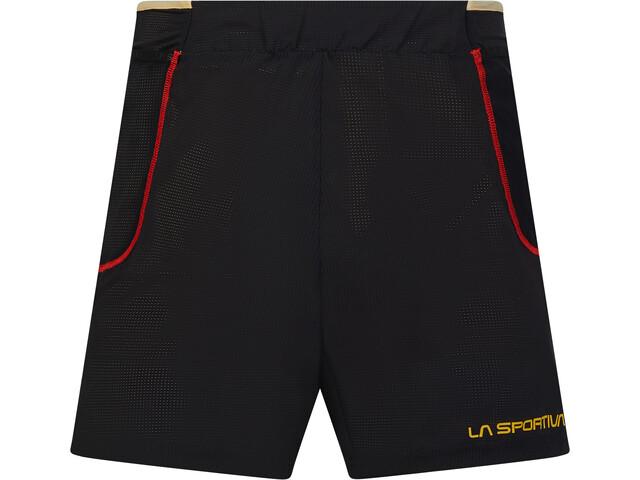 La Sportiva Freccia Shorts Herrer, gul/sort